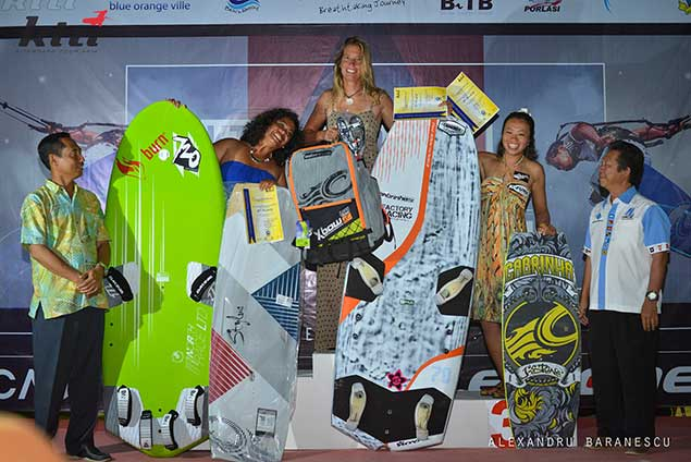 ladies race board winners KTA Indonesia