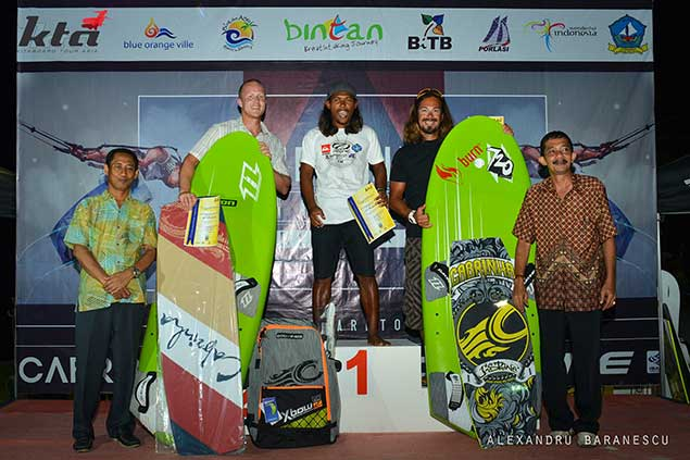 mens race board winners KTA Indonesia