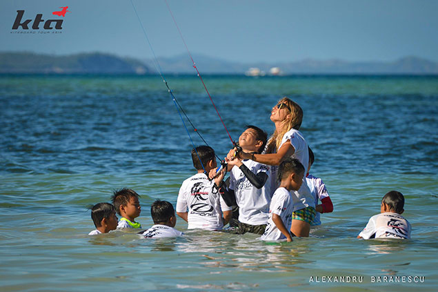 kta kite kids on Boracay