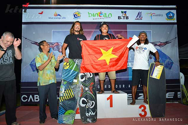 freestyle mens winners KTA Indonesia