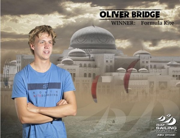 Olly Bridge wins Abu Dhabi 2015
